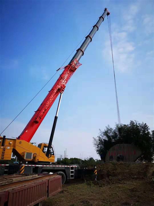 温州吊车租赁设备吊装步骤