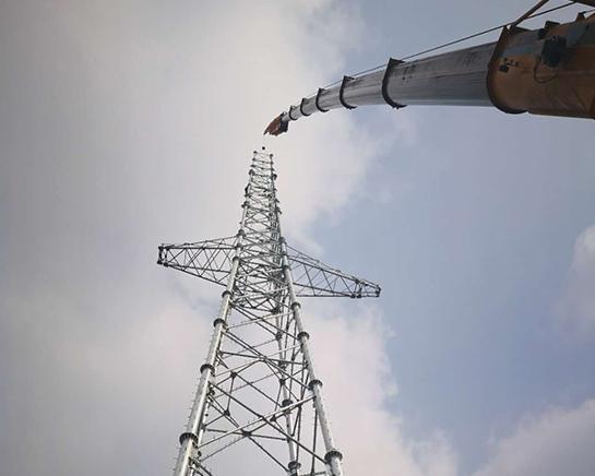 温州信号塔吊装