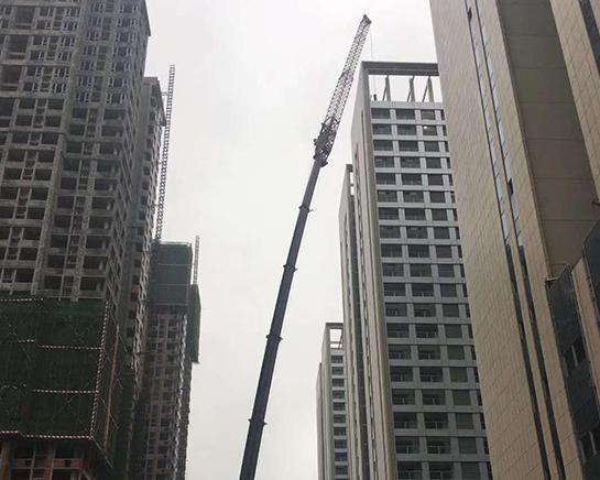 温州高空楼房拆装塔机作业