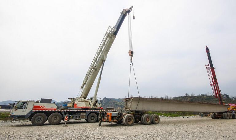 温州道路桥梁施工现场
